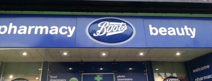 Boots is one of To (Beauty-) Shop.