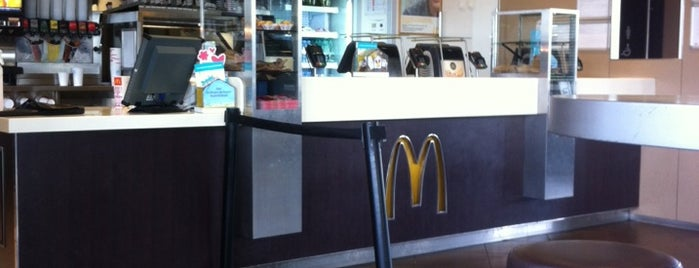 McDonald's is one of Shop and eat.
