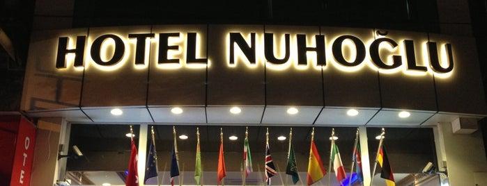 Hotel Nuhoğlu is one of İSTANBUL OTELLER 🏩.