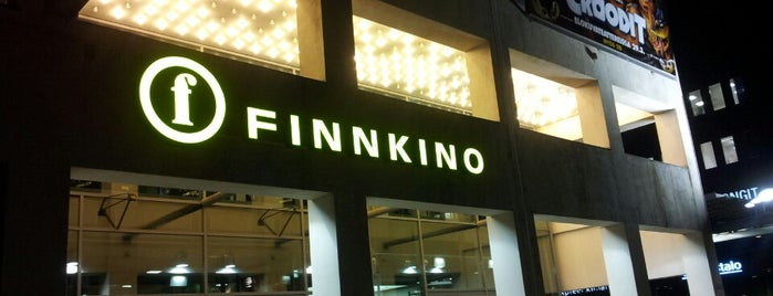 Finnkino Tennispalatsi is one of Finland TO-DO.