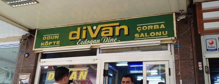 Divan Odun Köfte Çorba Salonu is one of Yeme & İçme.