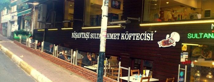 Nişantaşı S.Ahmet Köftecisi (Cevdet Usta) is one of Istanbul.