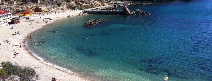 Cala Cortina is one of Playas.