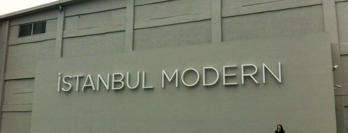 İstanbul Modern Sanat Müzesi I Istanbul Museum of Modern Art is one of İstanbul'daki Müzeler (Museums of Istanbul).