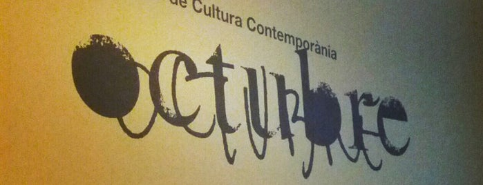 Octubre Centre de Cultura Contemporània is one of Cafeteo con encanto en Valencia.