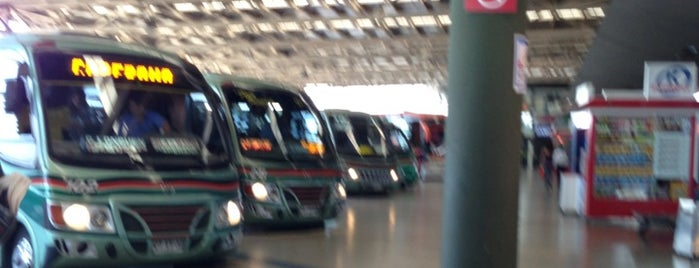 Terminal de Buses San Borja is one of Santiago City.