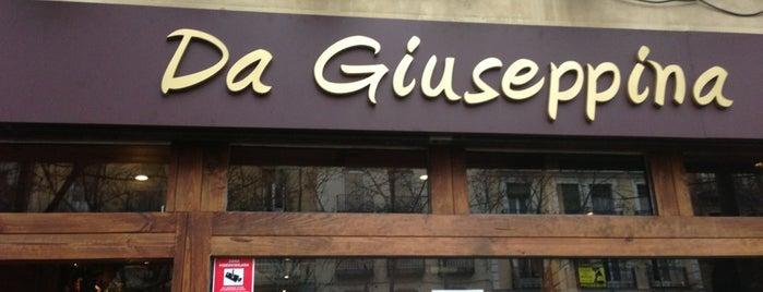Da Giuseppina is one of Imprescindibles.
