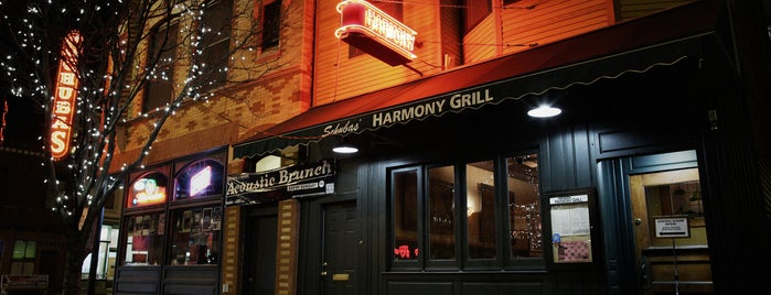 Harmony Grill is one of Places to Eat.