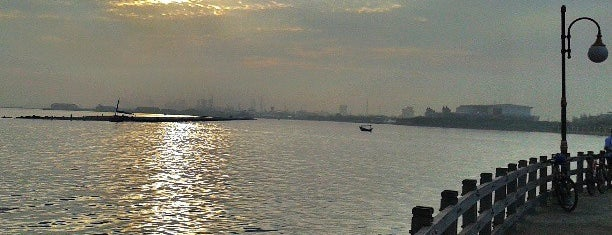 Ancol Beach is one of Enjoy Jakarta 2012 #4sqCities.