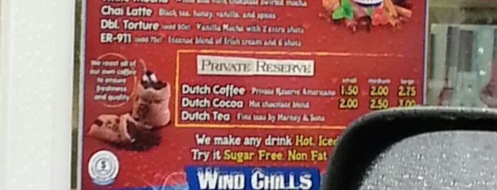 Dutch Bros. Coffee is one of Places I wanna go.