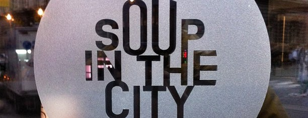 Soup In The City is one of Food and more food.