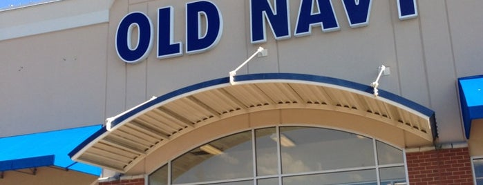 Old Navy is one of summer'12.
