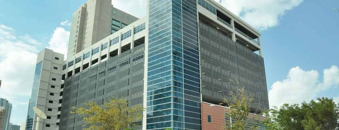 Courthouse Center Garage (Garage 1) is one of Best Places to Park for the Miami Freedom Tower.