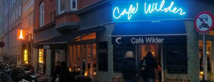 Cafe Wilder is one of Copenhagen.