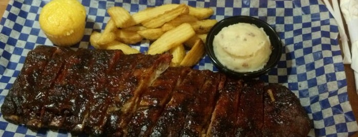 Famous Dave's Bar-B-Que is one of Favorite Places.