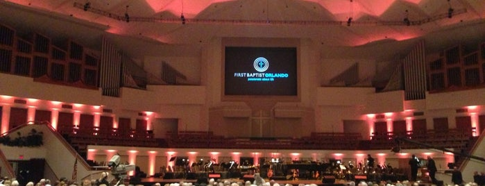 First Baptist Church of Orlando is one of Great Churches.