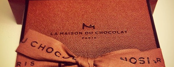 La Maison du Chocolat is one of Paris to do list.