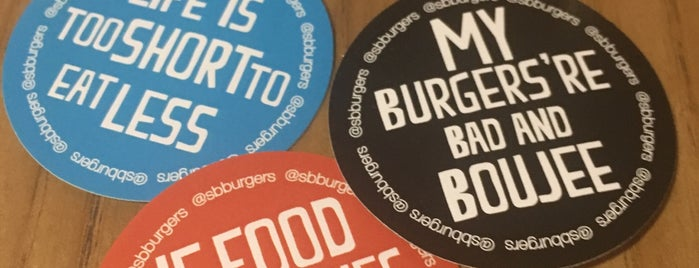 SB Burgers is one of Бургеры в Питере.
