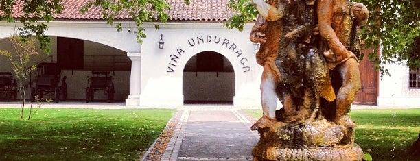 Viña Undurraga is one of Santiago Chile.