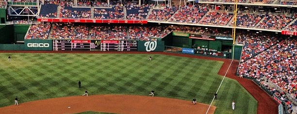 Nationals Park is one of Places I go.