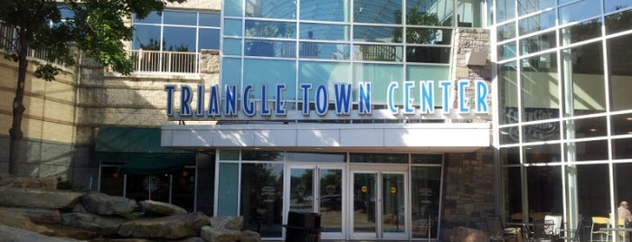 Triangle Town Center Mall is one of Shopping.