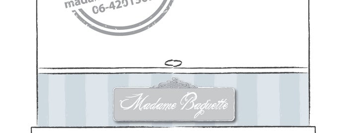 Madame Baguette is one of Pappa a Roma!!!.