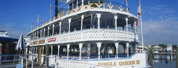 Jungle Queen Riverboat is one of Must Do for First Timers #VisitUS.