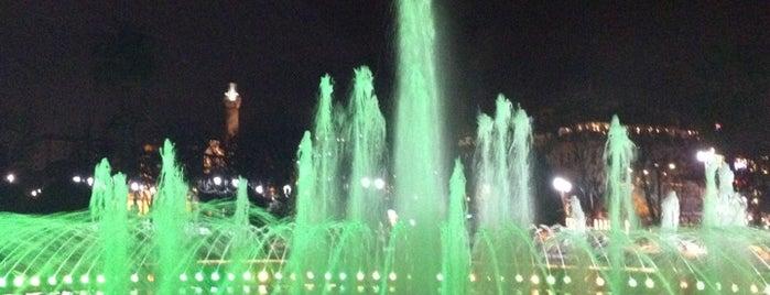 Sultanahmet Meydanı Süs Havuzu is one of Istambul.
