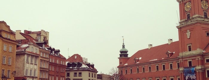 Plac Zamkowy is one of Free hotspot WiFi Warszawa.