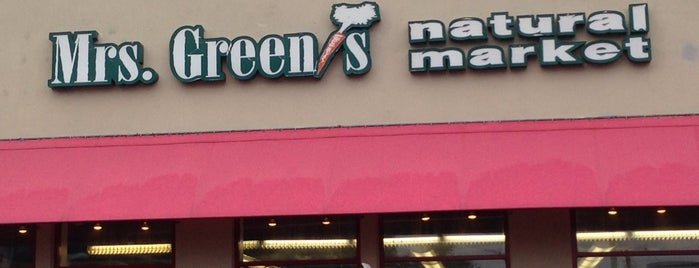 Mrs. Green's Larchmont is one of Mrs. Green's Natural Market.