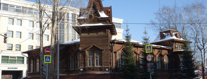 Улица Мамина-Сибиряка is one of ___.