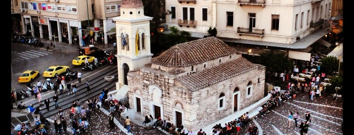 Monastiraki Square is one of Part 3 - Attractions in Europe.