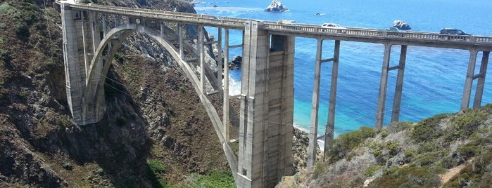Bixby Creek Bridge is one of L.A..