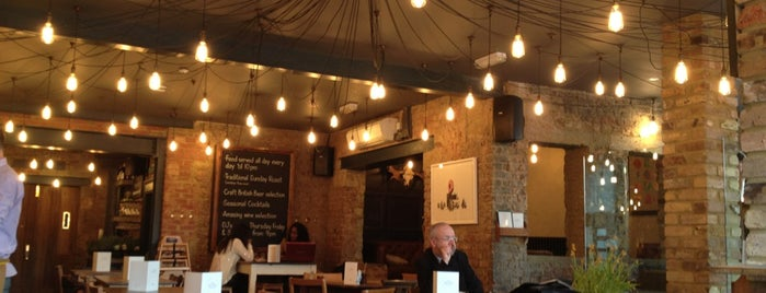 The Alice House is one of London Breakfast.