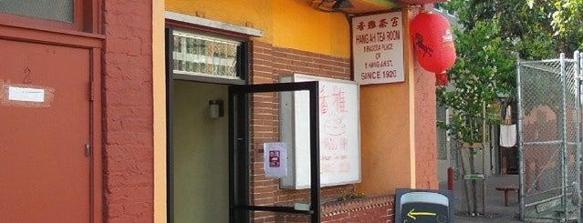 Hang Ah Tea Room is one of SF.