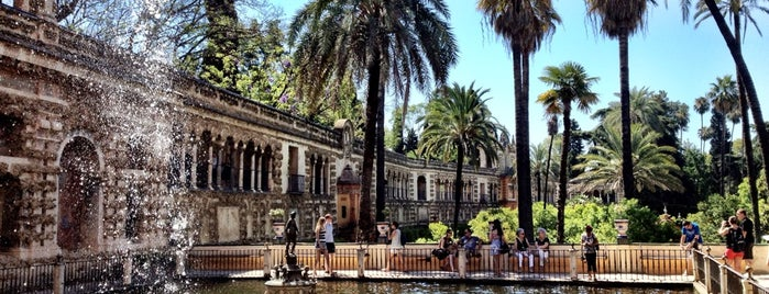 Real Alcázar de Sevilla is one of Spain.