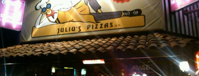 Juliu's Pizza is one of Mexico City's Best Pizza - 2013.