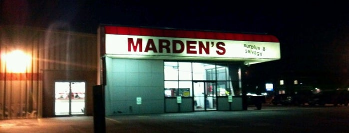 Marden's is one of Oh The Places You Will Go!.