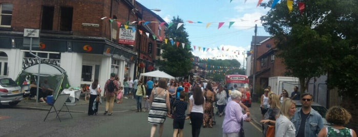 Beech Road, Chorlton, Manchester is one of Best places in Chorlton.