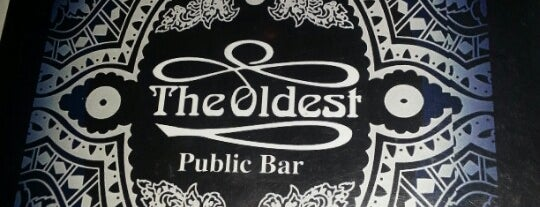 The Oldest Public Bar is one of Get Drunk or Die Tryin'.