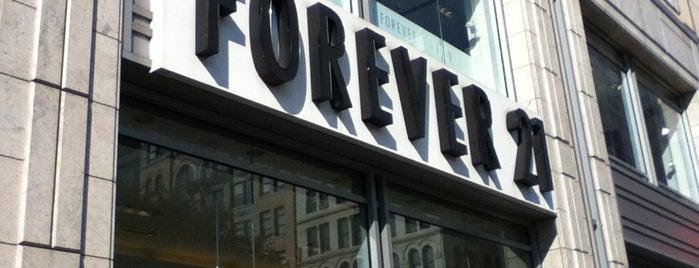 Forever 21 is one of Nova York 2014.
