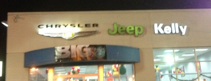 Kelly Jeep Chrysler is one of Our Favorite Car Dealerships.