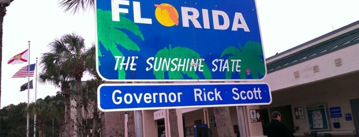 Florida Welcome Center (I-95) is one of Miami's must visit!.