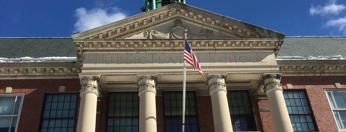 Boston Latin School is one of Longwood Medical Area.