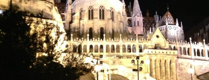 Fisherman's Bastion is one of I have been here.