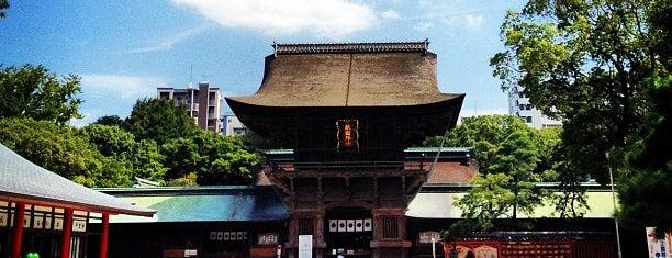 Hakozakigu Shrine is one of 神社.