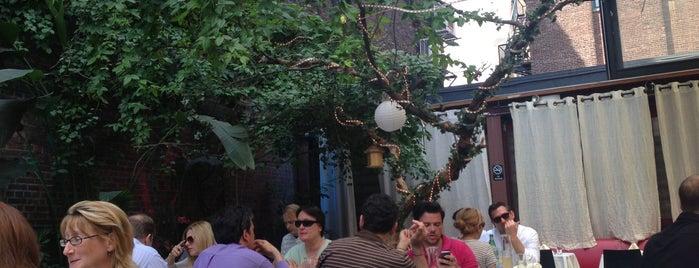 Revel Restaurant and Garden is one of Manhattan Essentials.