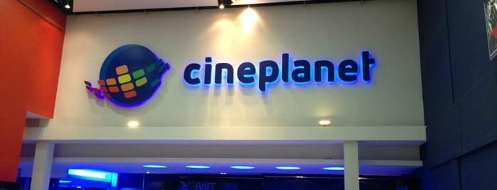 Cineplanet is one of Cines en Santiago.