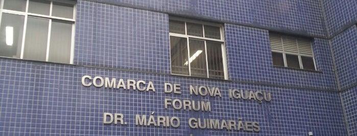 Fórum de Nova Iguaçu is one of Lugares bons para tortas.