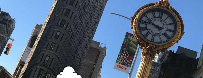 Flatiron Building is one of Sights in Manhattan.